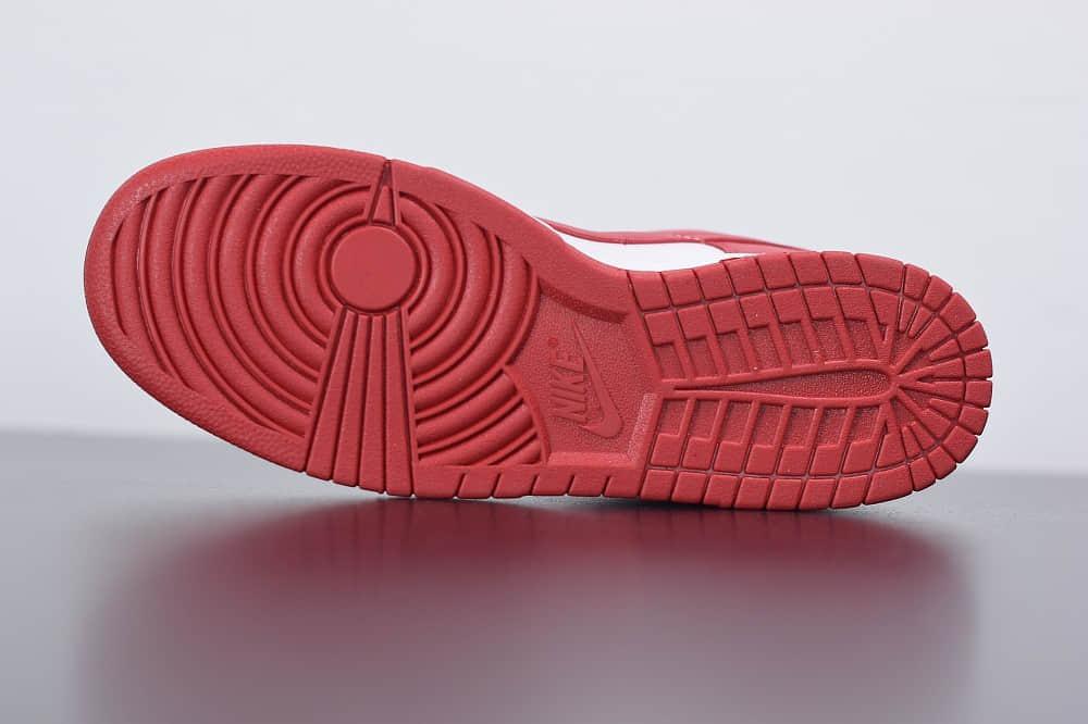 耐克Nike Dunk Low ST.JHONS  白红低帮滑板鞋纯原版本 货号:CU1727-100