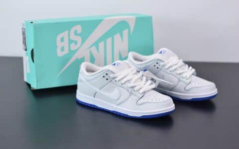 耐克NIKE SB DUNK LOW PRO PREMIUM青花瓷低帮文化滑板鞋纯原版本 货号:CJ6884-100