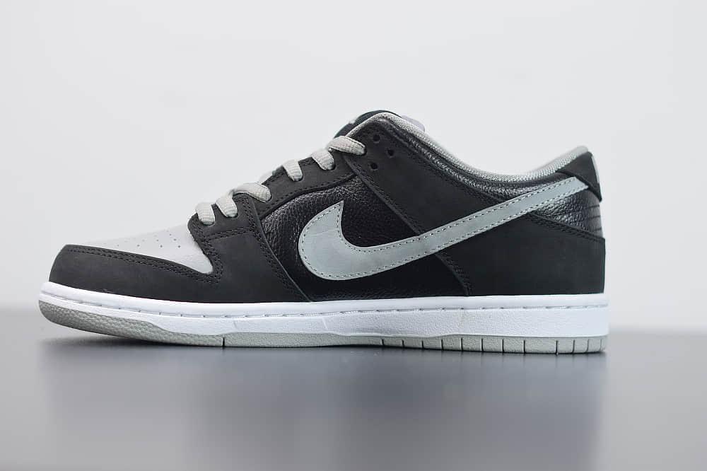 耐克Nike SB Dunk Low J-Pack Shadow影子灰周杰伦同款低帮滑板鞋纯原版本 货号:BQ6817-007