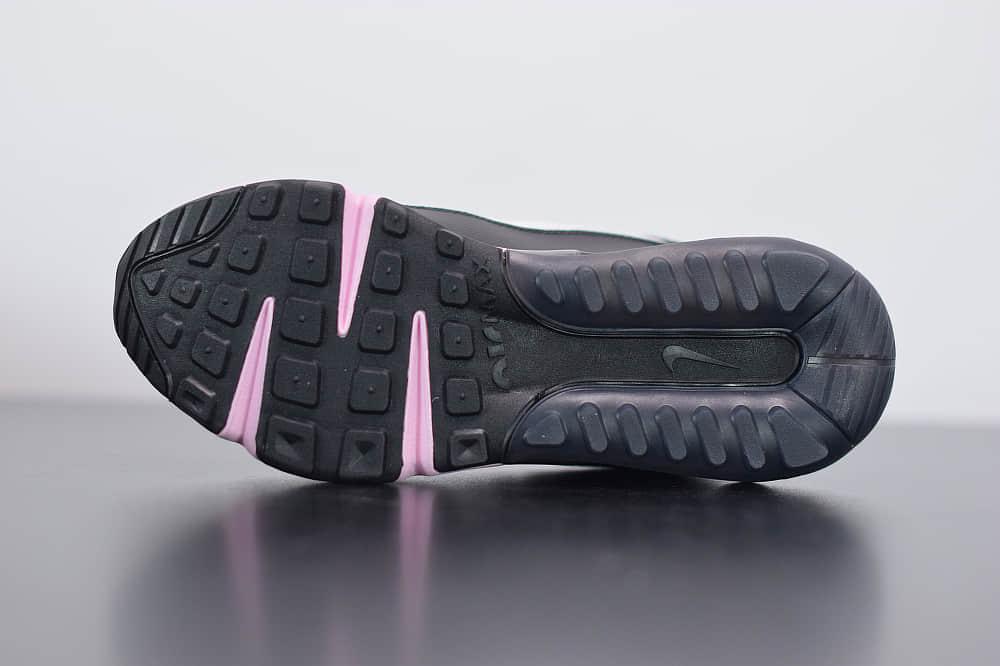耐克Air Max 2090黑粉色半掌气垫跑鞋纯原版本 货号:CW4286-100