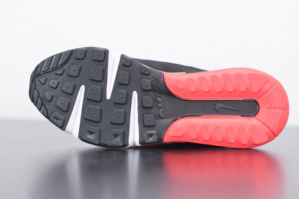 耐克Air Max 2090黑白红色色半掌气垫跑鞋纯原版本  货号:CU9174-600