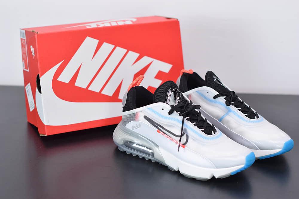 耐克Air Max 2090白色半掌气垫跑鞋纯原版本 货号:CT7695-100