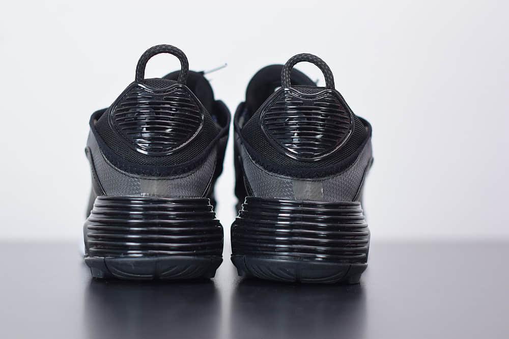 耐克Air Max 2090黑银色半掌气垫跑鞋纯原版本 货号:CW7306-001