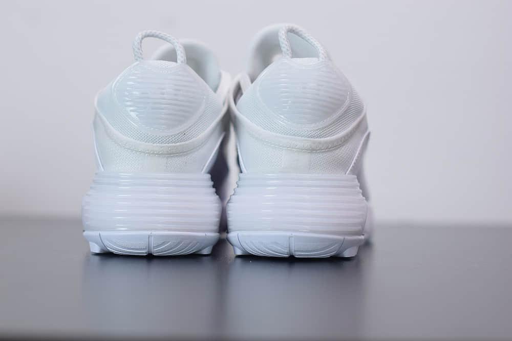 耐克Air Max 2090纯白色半掌气垫跑鞋纯原版本 货号:CJ4066-102