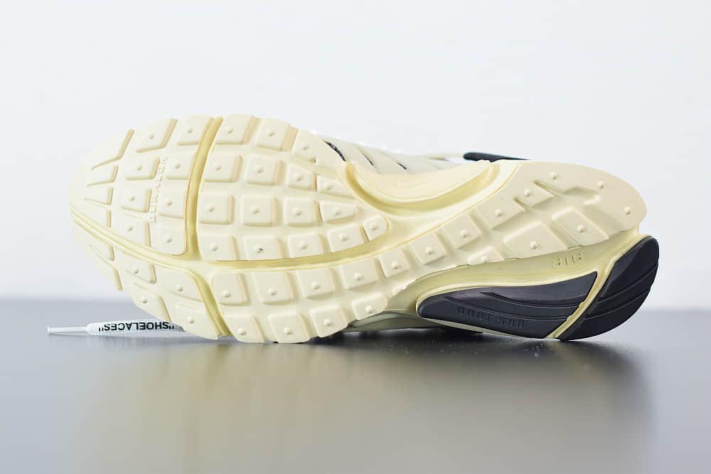 耐克Nike Air Presto x OFF-WHITE 2.0 The Ten耐克王解构黑色OW联名袜子跑鞋纯原版本 货号:AA3830-001
