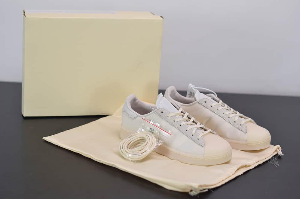 阿迪达斯Eason x adidas Originals SUPERSTAR陈奕迅联名款白色贝壳头板鞋纯原版本 货号:FX8116
