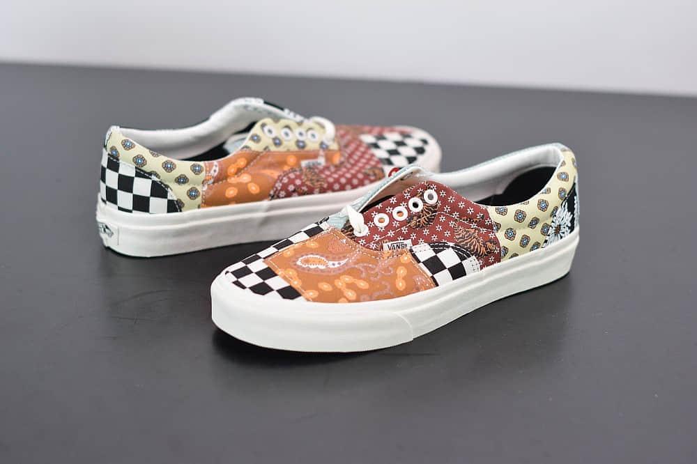万斯Vans Era复古限定腰果花帆布鞋纯原版本 货号:VN0A4U391IO