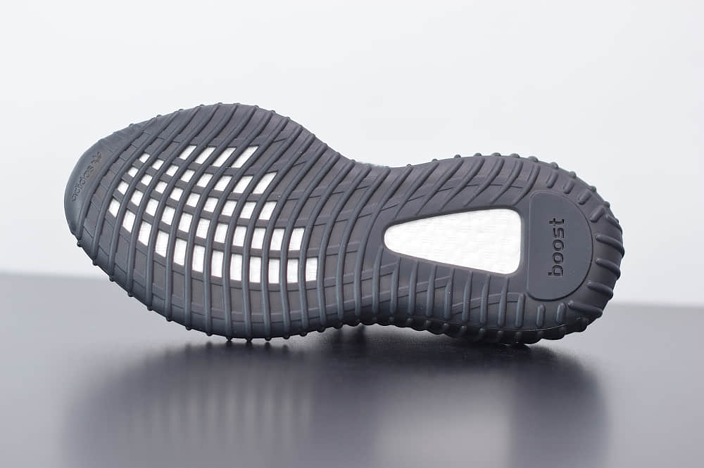 阿迪达斯Adidas Yeezy Boost 350 V2黑彩虹满天星休闲慢跑鞋纯原版本 货号:FX4145