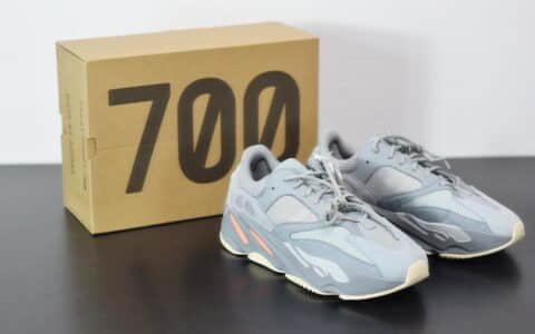 阿迪达斯Adidas YEEZY 700 Inertia蓝灰复古老爹鞋纯原版本 货号:EG7597