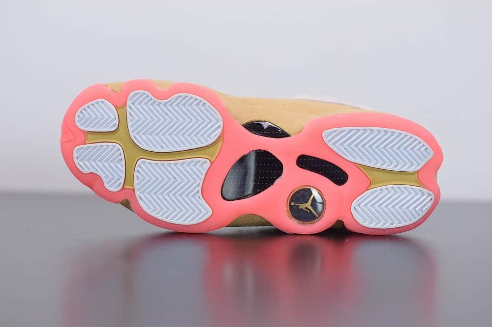 乔丹Air Jordan 13 CNY AJ13中国年铜钱高帮篮球鞋纯原版本 货号:CW4683-100