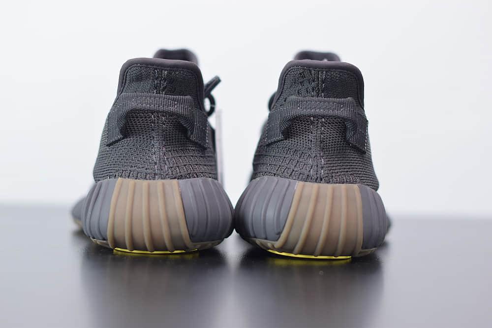 阿迪达斯ADIDAS YEZZY 350 V2黑生胶满天星休闲慢跑鞋纯原版本 货号:FY4176