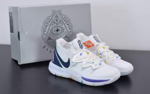 耐克Nike Kyrie 5 EP 欧文5代笑脸篮球鞋纯原版本 货号:AO2919-101