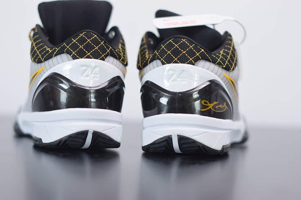耐克Nike Zoom Kobe 4科比四代季后赛低帮男子篮球鞋纯原版本 货号:AV6339-101