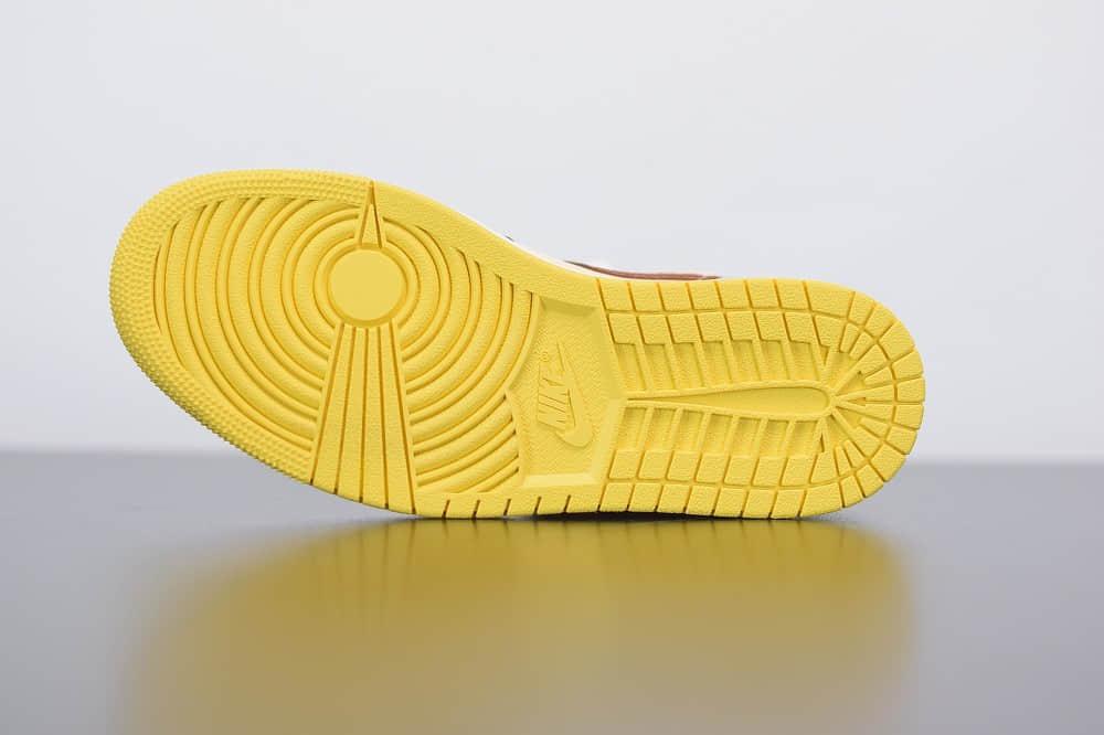 """乔丹Air Jordan 1 Mid """"Fearless""""AJ1中帮非洲风情篮球鞋纯原版本 货号:CU2803-200"""