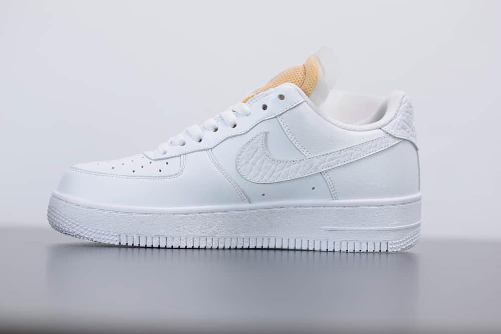 耐克Nike Air Force 1'07 LxWhite Onyx Bling LF空军一号钻石配色低帮休闲板鞋纯原版本 货号:CZ8101-100