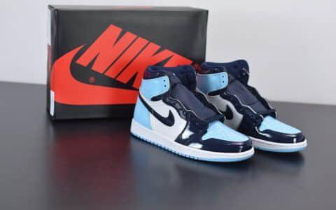 """乔丹Air Jordan 1 WMNS """"UNC""""全明星漆皮北卡蓝篮球鞋纯原版本 货号:CD0461-401"""