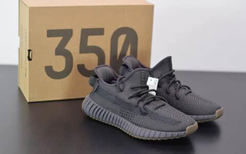 阿迪达斯AadidasYeezy Boost 350V2黑生胶天使休闲慢跑鞋纯原版本 货号:FY2903