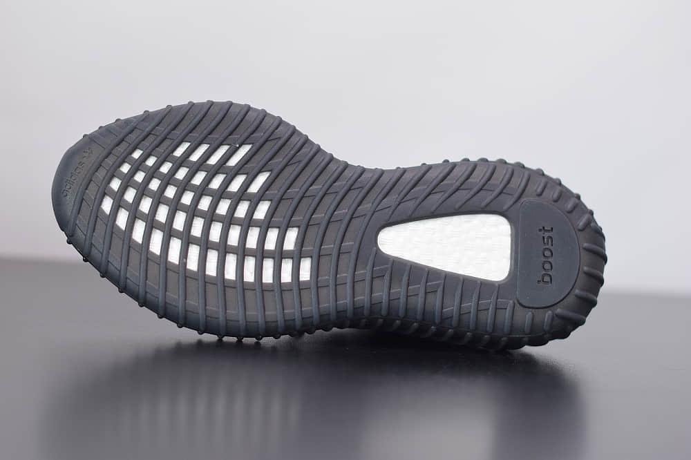 阿迪达斯ADIDAS YEZZY 350 V2黑天使休闲慢跑鞋纯原版本 货号:FU9006