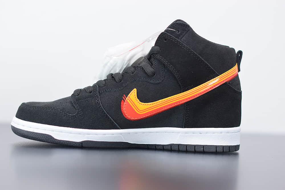 耐克Nike SB Dunk Low Truck lt pack高帮SB DUNK公路旅行黑橙色纯原版本板鞋 货号:BQ6826-003