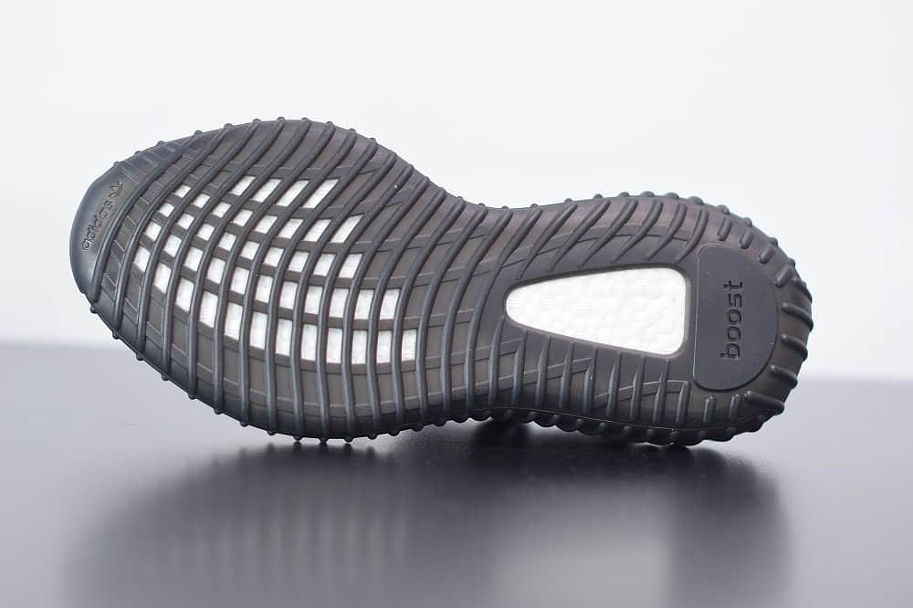 阿迪达斯ADIDAS YEZZY 350 V2黑红爆米花休闲慢跑鞋纯原版本 货号:BY9612