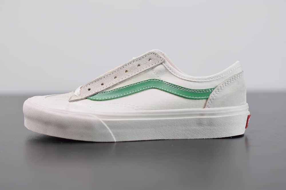 万斯R03F3 Vans Style 36 Decon SF白绿杀人鲸半月包头硫化滑板鞋纯原版本 货号:VN0A3DZ3RFX