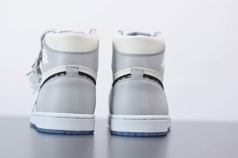 乔丹Dior x Air Jordan 1 High OG高帮迪奥联名AJ1纯原版本 货号:CN8607-002