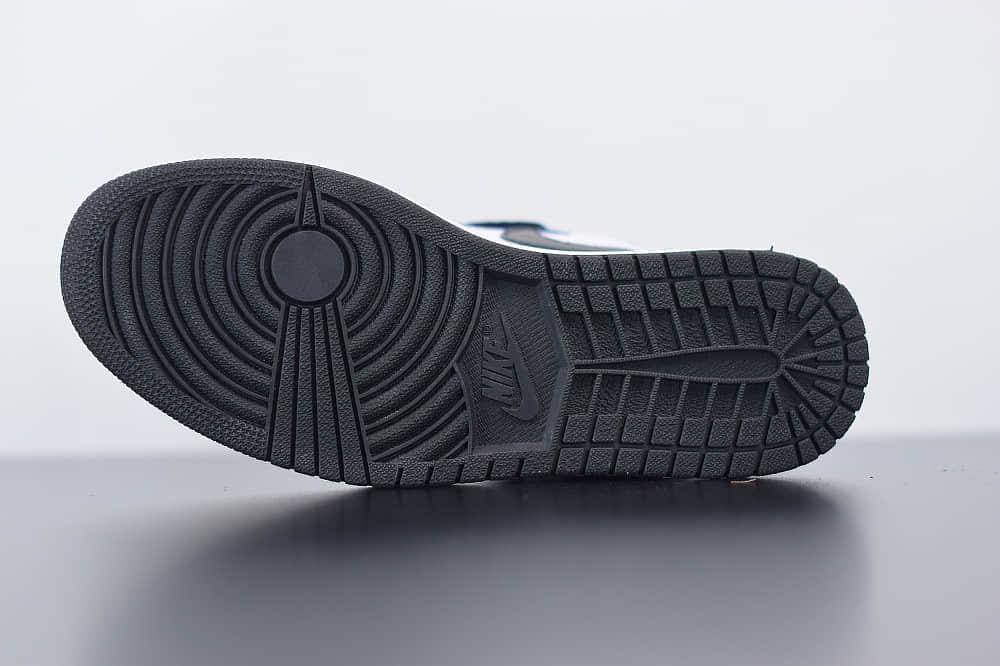 乔丹AirJordan 1 Retro Tie-Day AJ1高帮扎染配色板鞋纯原版本 货号:CD0461-100