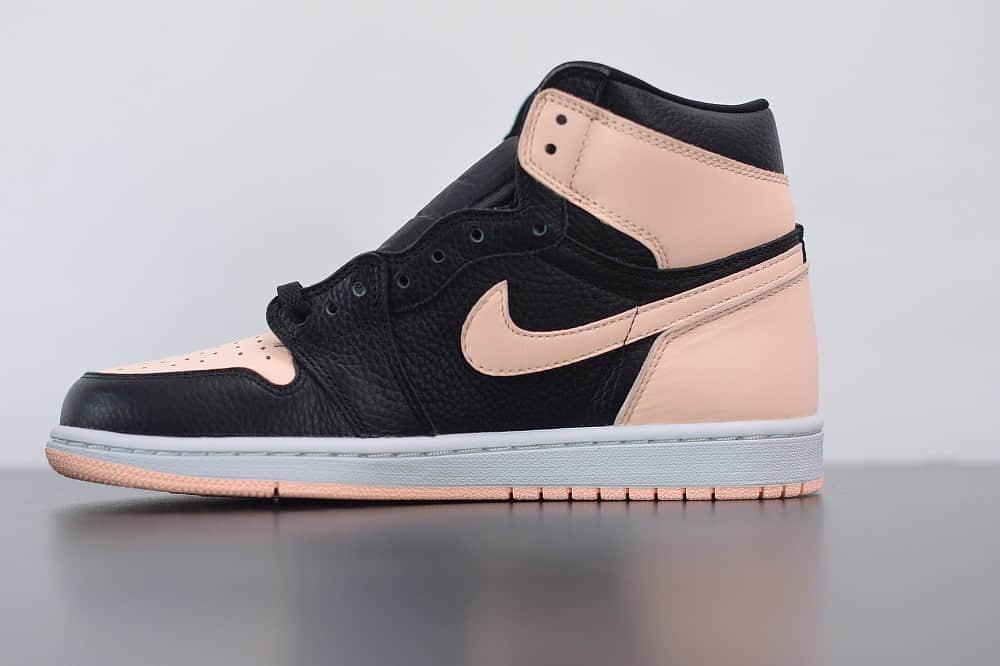 乔丹Air Jordan 1 High AJ1高帮黑粉脚趾板鞋纯原版本 货号:575441-081