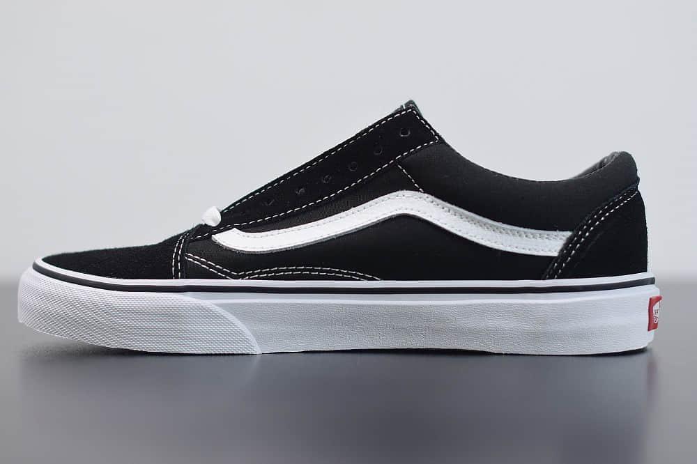 万斯Vans低帮黑白经典帆布鞋纯原版本 货号:VN0A3MVLY28