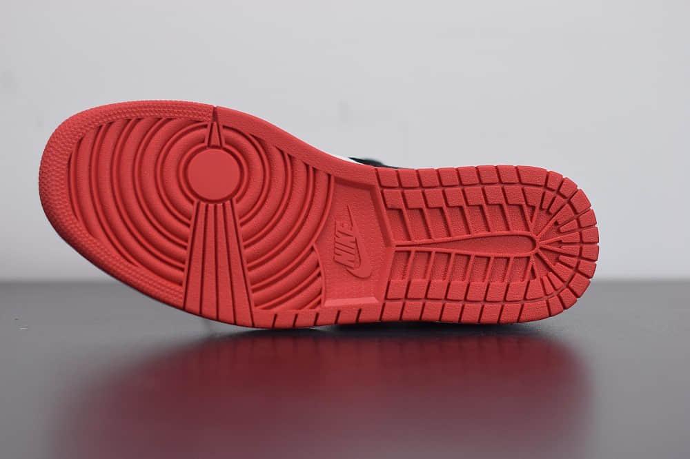 乔丹Air Jordan AJ1中帮白丝绸陈冠希联名款板鞋 货号: CU2804-100