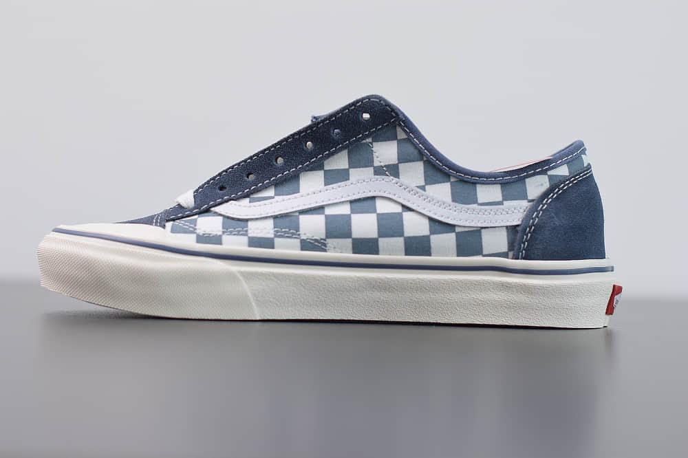 万斯Vans Style 36 Decon SF 万斯雾霾蓝半月包头杀人鲸硫化板鞋帆布鞋