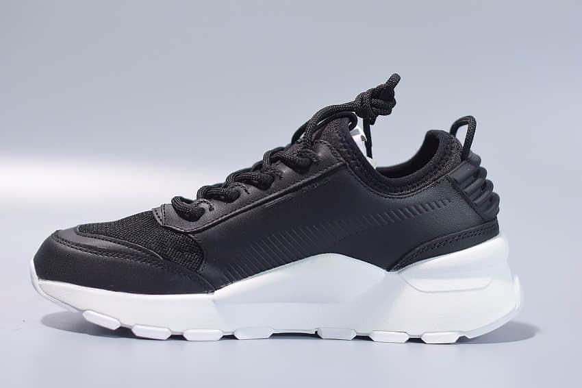 彪马PUMA RS-0 Sound刘昊然同款复古黑色老爹鞋纯原版本 货号:366890-06