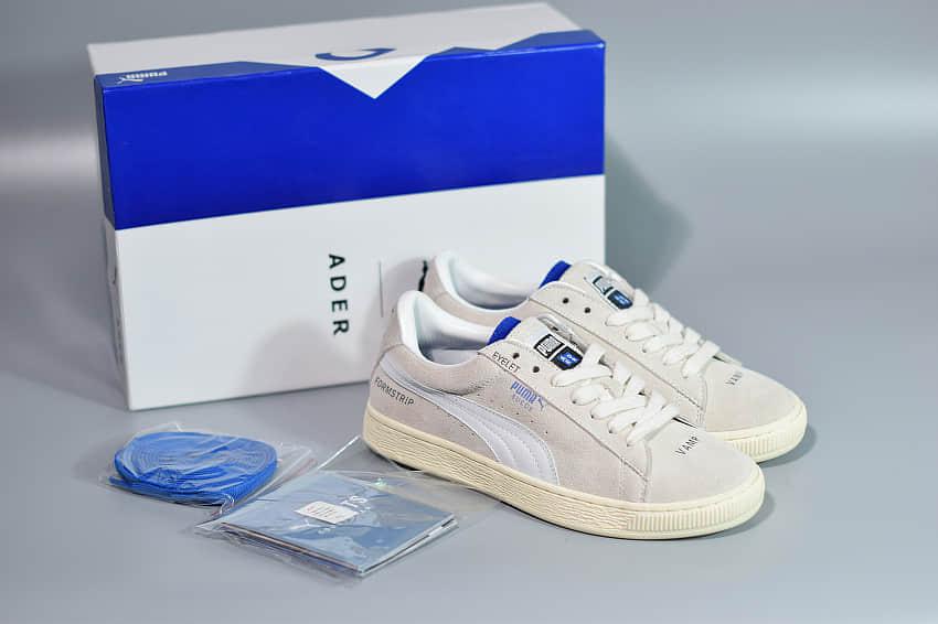 彪马PUMA x ADER ERROR经典灰白色联名款运动休闲板鞋纯原版本 货号:36719501