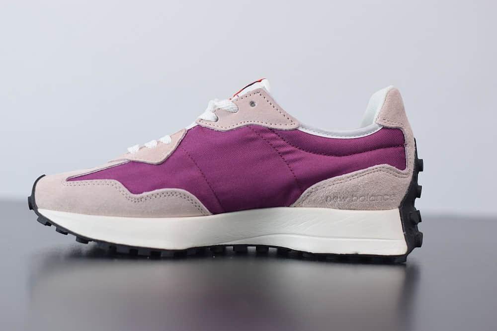 新百伦New Balance MS327复古先锋系列橘黄紫休闲运动慢跑鞋纯原版本 货号:WS327LAB