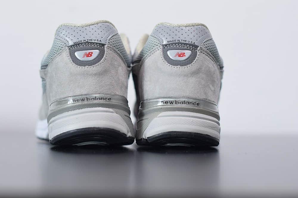 新百伦New Balanc 990V4灰白美产系列经典复古休闲运动慢跑鞋纯原版本 货号:M990GL4