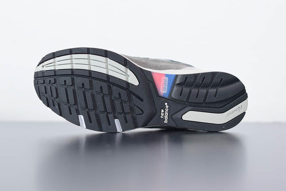 新百伦New Balance M992灰色休闲慢跑鞋纯原版本 货号:M992MC1