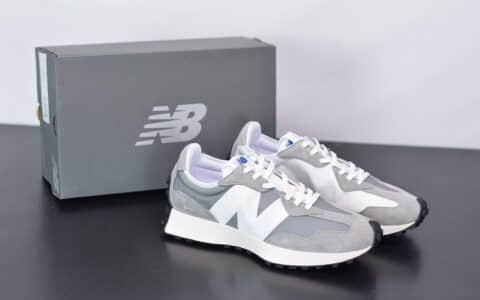 新百伦New Balance MS327复古先锋系列灰色休闲运动慢跑鞋纯原版本 货号:MS327LAB