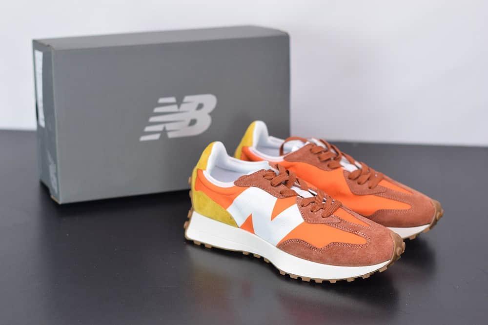 新百伦New Balance MS327复古先锋系列橙色休闲运动慢跑鞋纯原版本 货号:MS327CLA