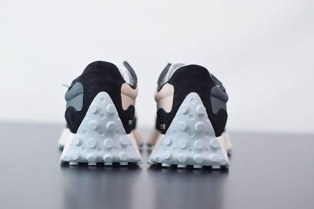 新百伦New Balance MS327复古先锋系列黑灰休闲运动慢跑鞋纯原版本 货号:WS327CPA