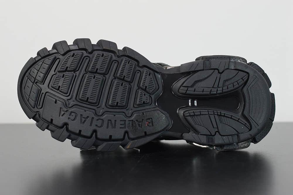 巴黎世家Balenciaga Sneaker Tess s.Gomma MAILLE WHITEORANGE黑色三代户外概念鞋 纯原版本