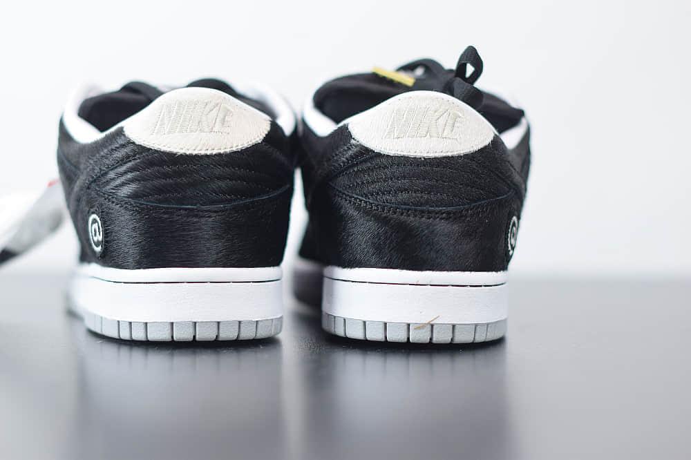 耐克Nike SB Dunk Low黑色低帮马毛面休闲板鞋纯原版本 货号:CZ5127-001