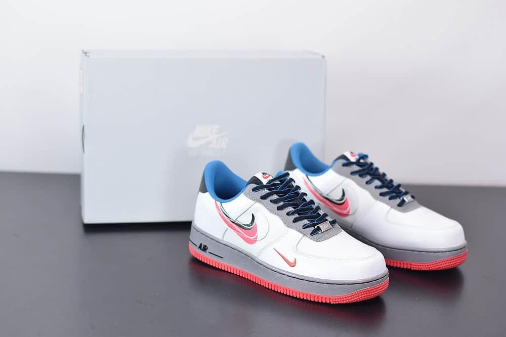 耐克Nike Air Force1 AF1双钩空军一号休闲板鞋纯原版本 货号:CT1620-100