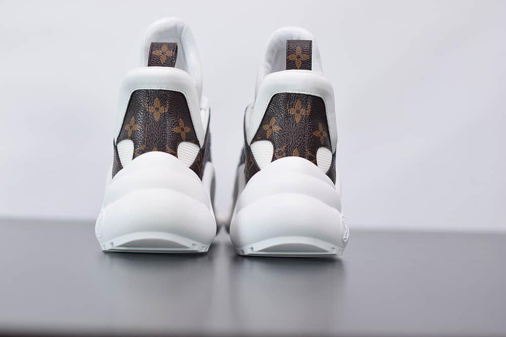 路易威登Louis Vuitton Archlight Sneakers LV白色复古运动鞋纯原版本 货号:1A43KV