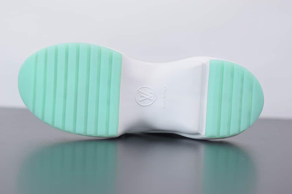 路易威登Louis Vuitton Archlight Sneakers LV蓝色复古运动鞋纯原版本 货号:1A65RQ