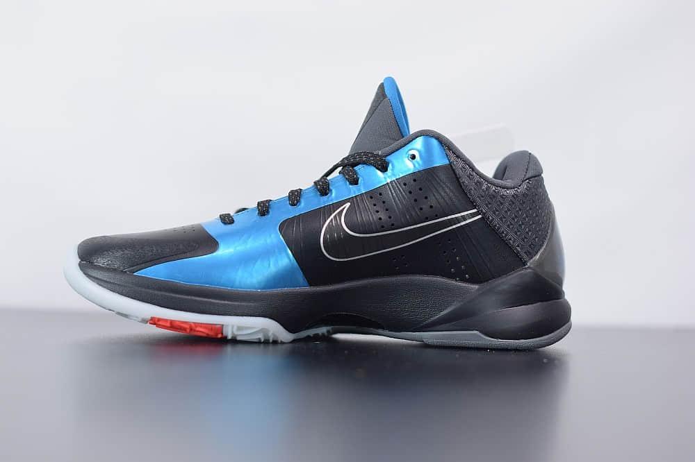耐克Nike Zoom Kobe 5 DARK KNIGHT 科比5暗夜骑士低帮运动篮球鞋纯原版本 货号:386429-001