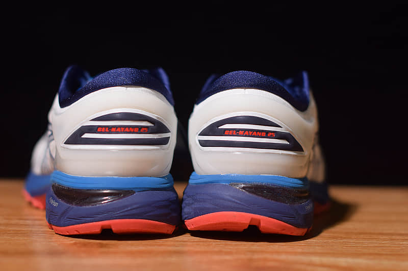 亚瑟士ASICS GEL-KAYANO25蓝白跑鞋李治廷同款系列纯原版本 货号:1011A019-100