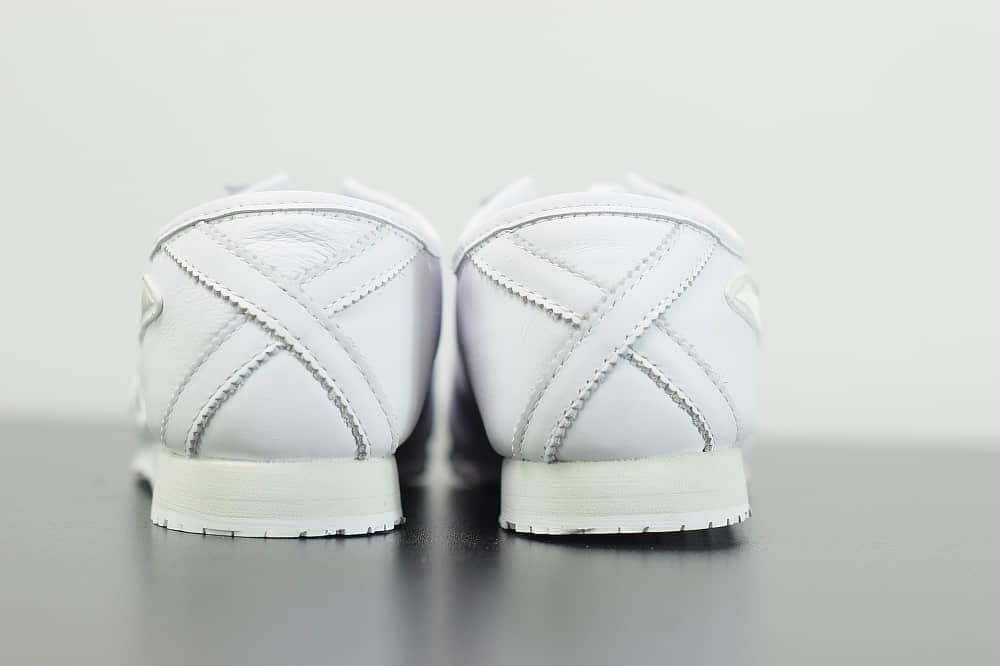 亚瑟士Givenchy x Onitsuka Tiger Mexico 66 GDX 纪梵希亚瑟士鬼冢虎纯白联名限定系列休闲运动鞋纯原版本 货号:1183A623-100