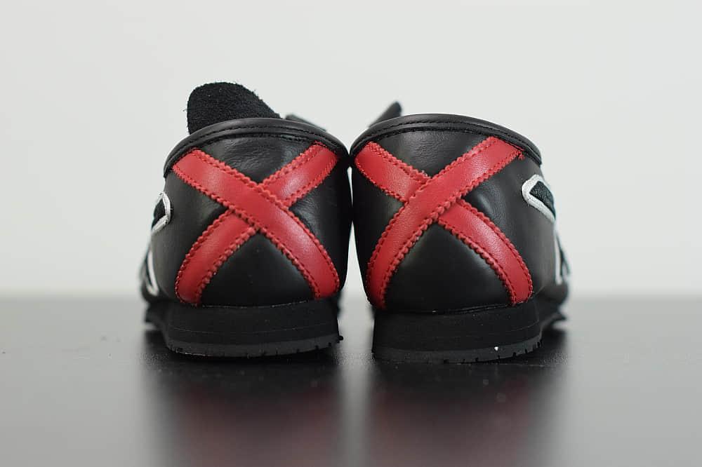 亚瑟士Givenchy x Onitsuka Tiger Mexico 66 GDX 纪梵希亚瑟士鬼冢虎黑红联名限定系列休闲运动鞋纯原版本 货号:1183A623-001