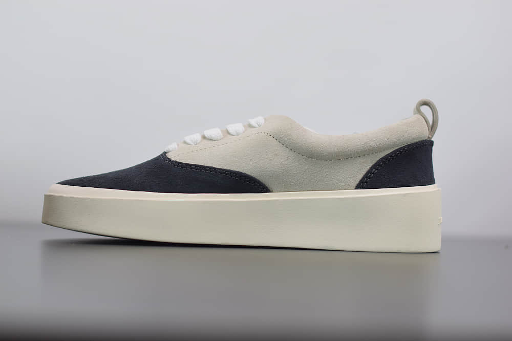 FOG Fear Of God Backless Sneaker101恐惧上帝黑灰色潮鞋纯原版本 货号:C0007000SUE960