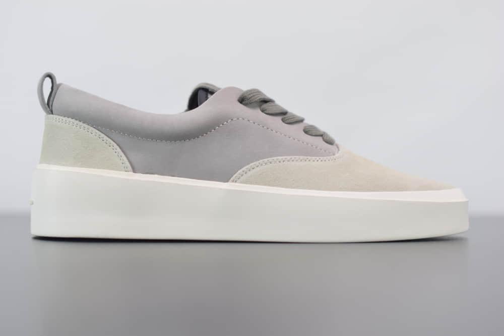 FOG Fear Of God Backless Sneaker101恐惧上帝灰白色潮鞋纯原版本 货号:C0007000-050